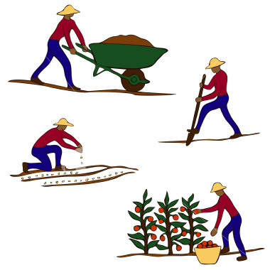 Gallery For > Horticulture Clipart Words.