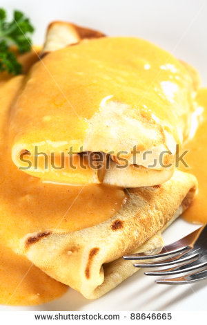 Crepe A La Hortobagy Stock Photos, Royalty.