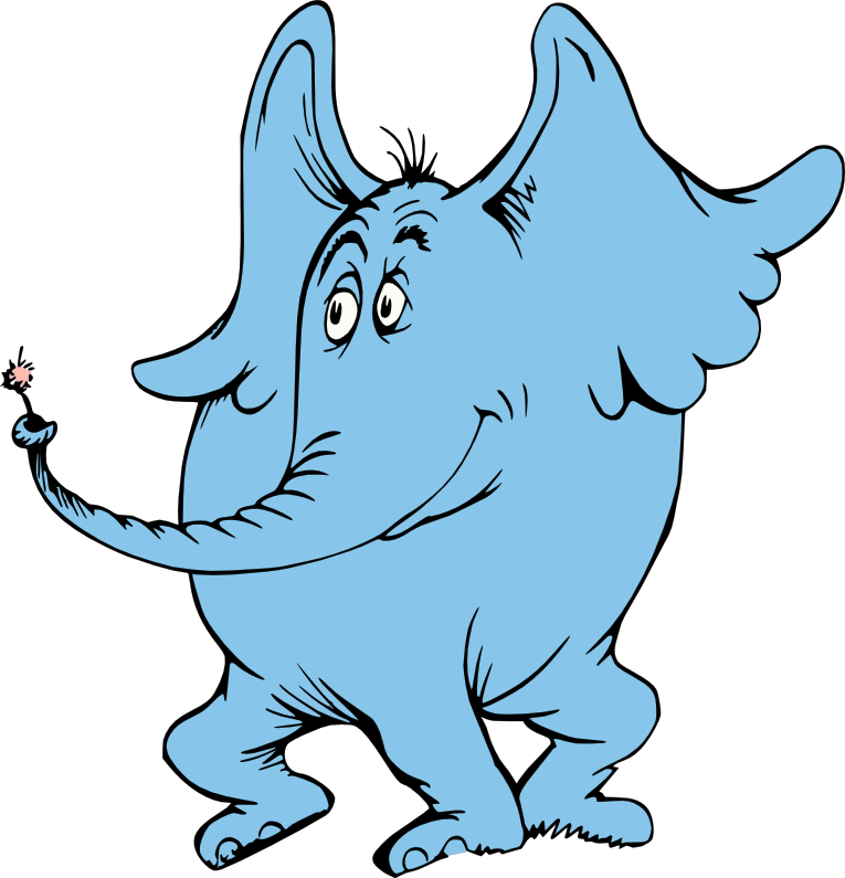 Horton Hears A Who Clipart.
