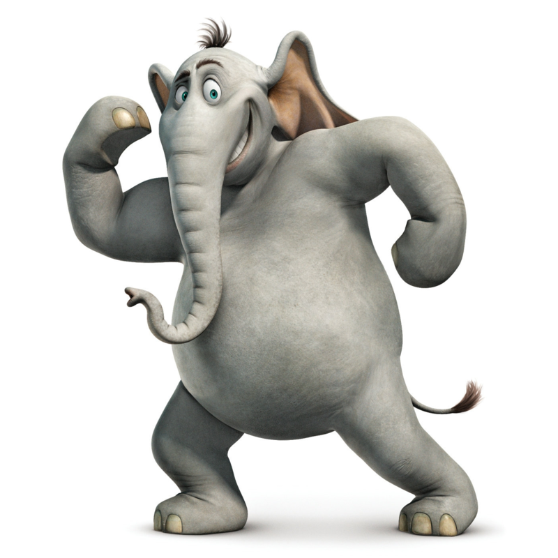 Download Free png Horton the Elephant.png.
