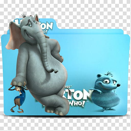 Horton Hears a Who Folder Icon, DAY..U () transparent background PNG.