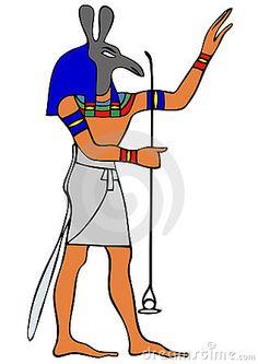 Horus in animal form.