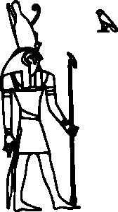 Horus clip art Free Vector / 4Vector.
