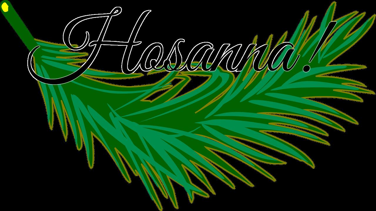 Palm clipart hosanna in high, Palm hosanna in high.