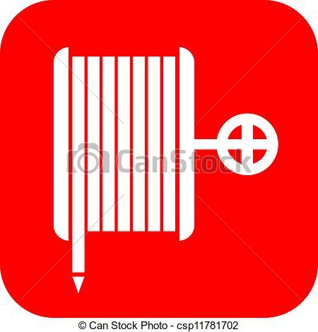 Hose reel Vector Clipart EPS Images. 100 Hose reel clip art vector.