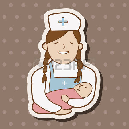 1,306 Baby Nurse Stock Vector Illustration And Royalty Free Baby.