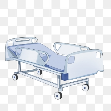 Hospital Bed Png, Vector, PSD, and Clipart With Transparent.