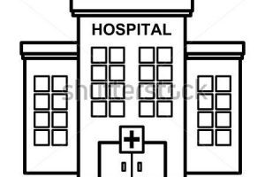 Hospital clipart black and white 1 » Clipart Portal.