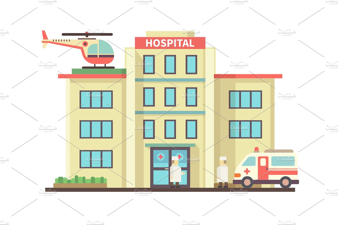 The best free Hospital clipart images. Download from 130.