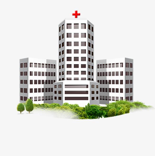 Hospital Building Clipart.