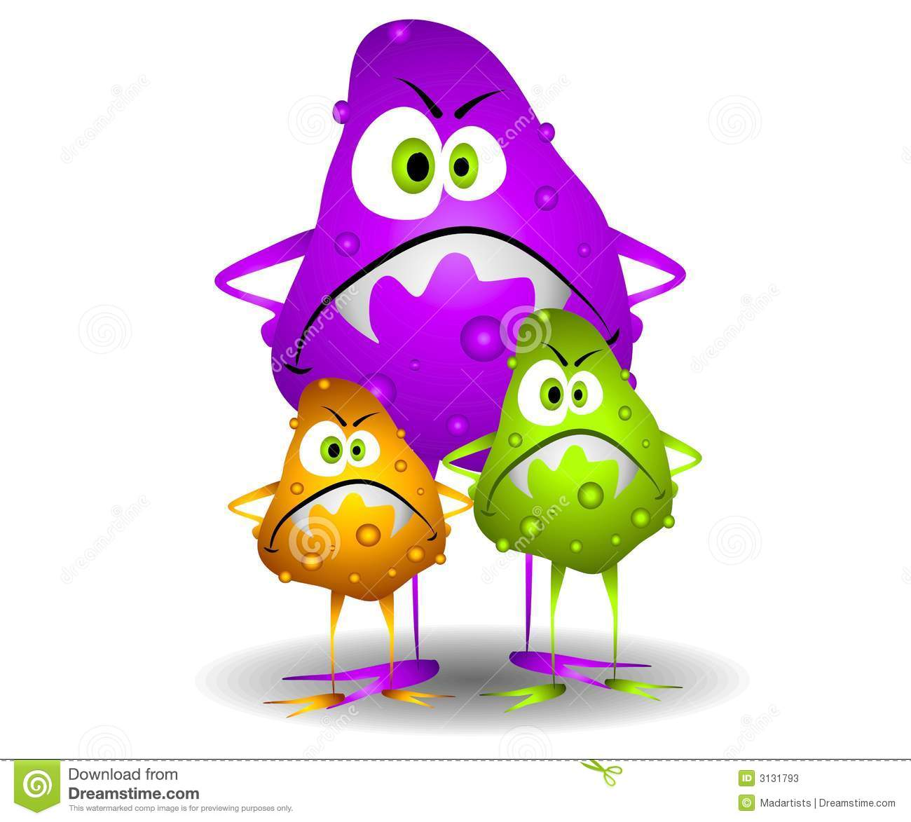 Germs Clipart.