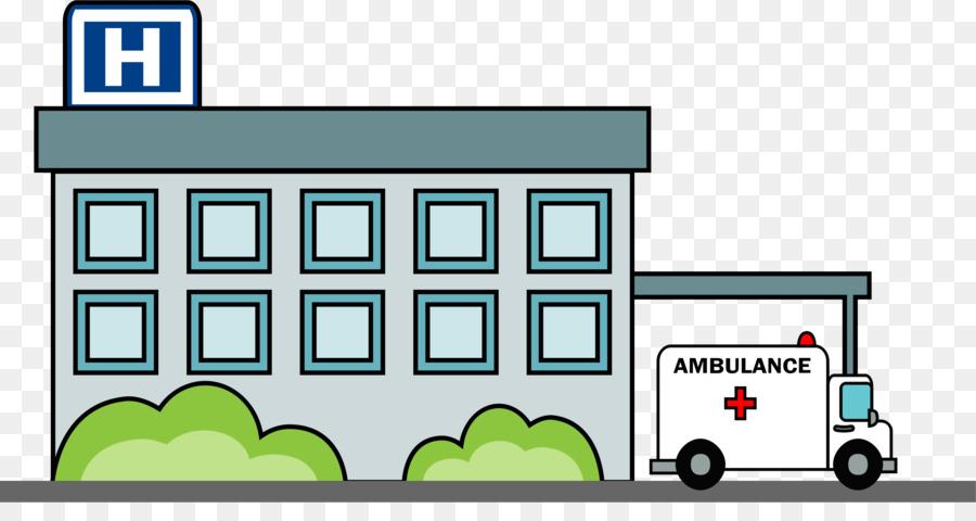 Hospital Cartoon clipart.