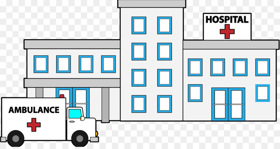 Hospital Cartoon clipart.