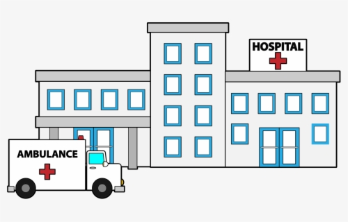 Free Hospital Clip Art with No Background.