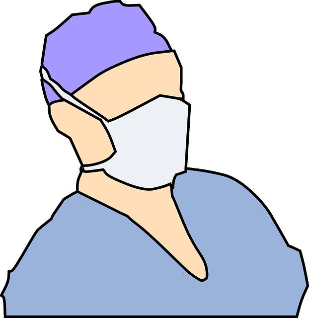 Free vector graphic: Surgeon, Doctor, Mask, Nurse.