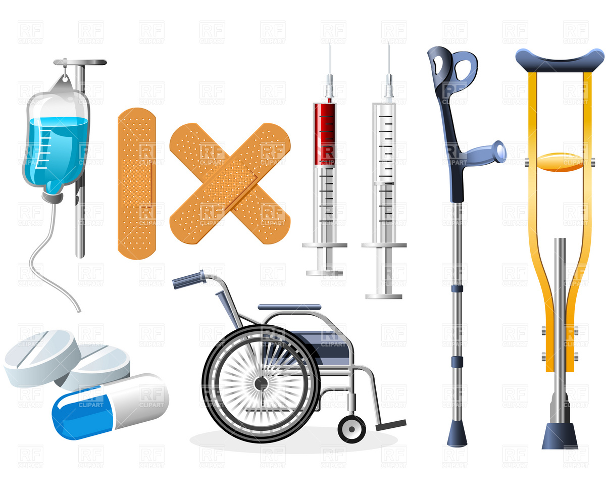 Hospital Supplies Clipart Clipground