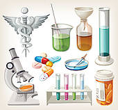 Hospital Supplies Clip Art.