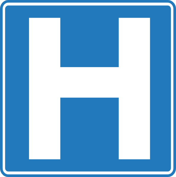 Hospital Symbol Clip Art at Clker.com.