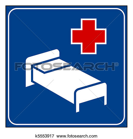 Stock Illustration of Hospital sign k5553917.