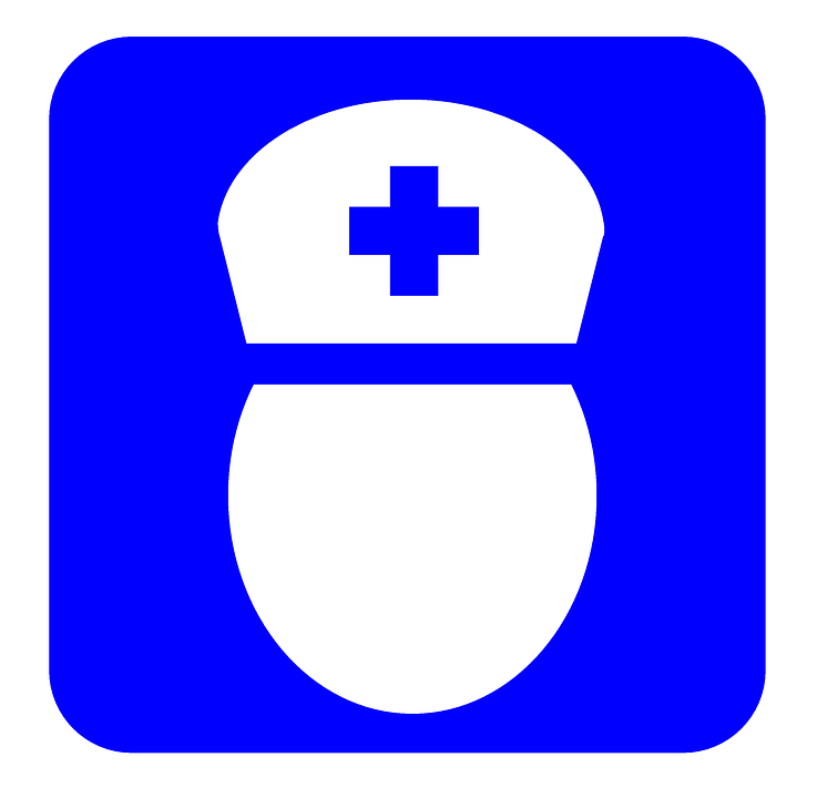 Free illustration: Nurse, Icon, Medical, Symbol.