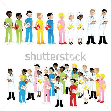 Medical Team Clipart (50+).
