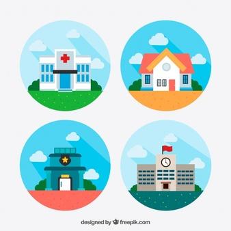 Hospital Building Vectors, Photos and PSD files.