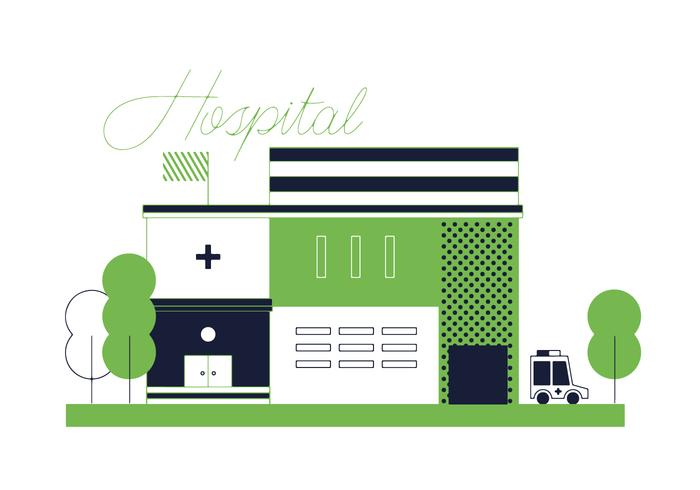 Free Hospital Vector.