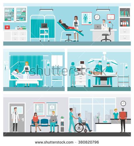 Hospital Ward Stock Images, Royalty.