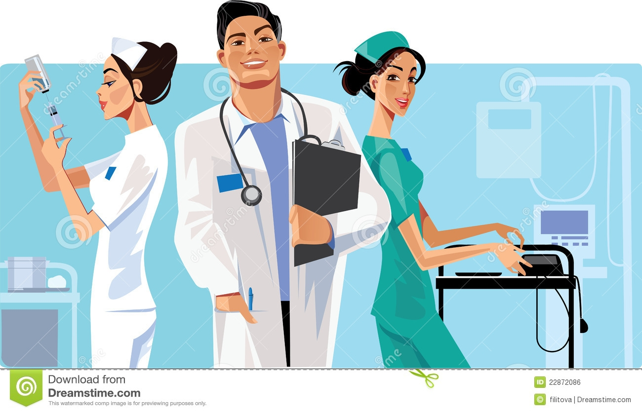 Free Clipart Health Care Workers.