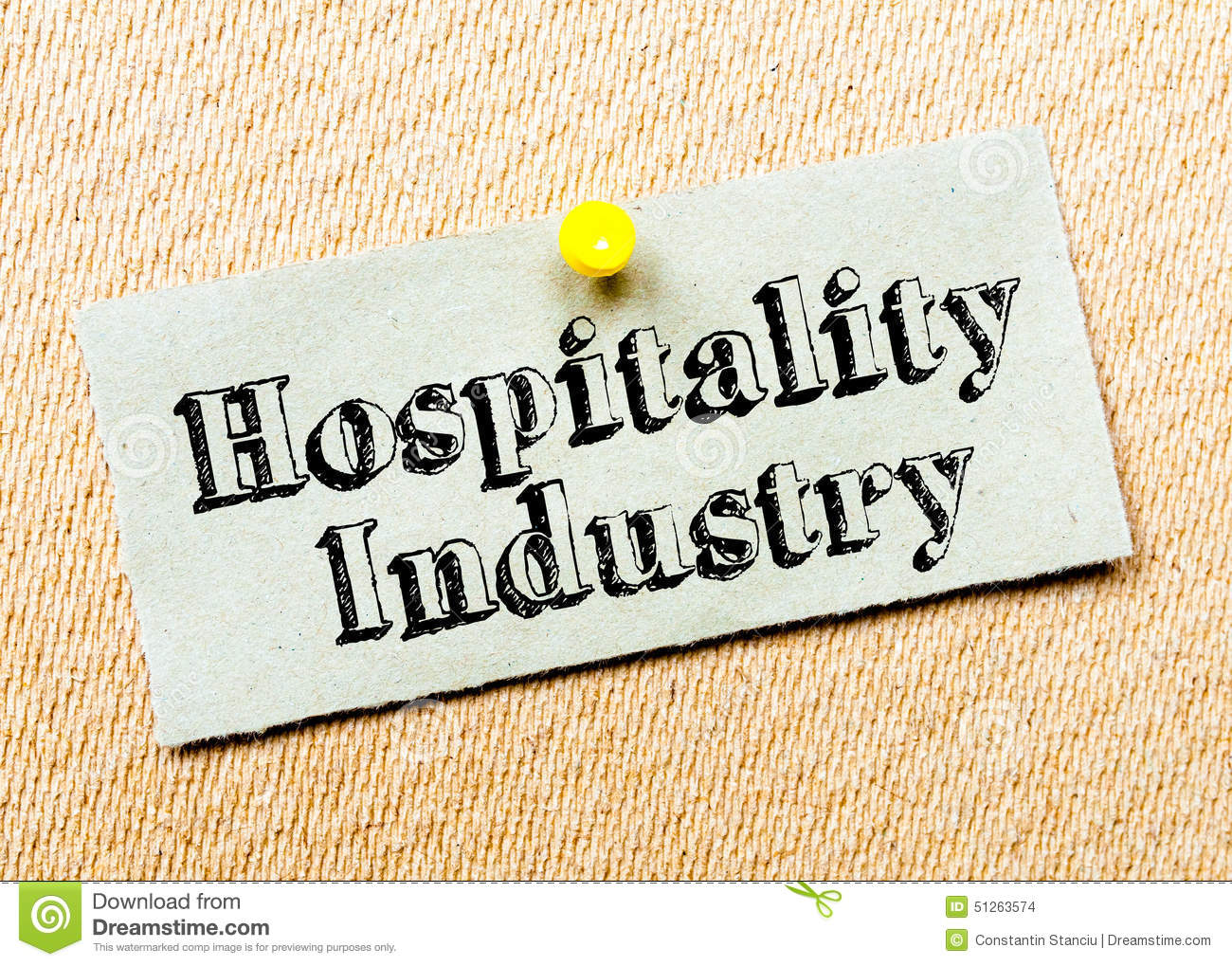 Hospitality Industry Clipart.