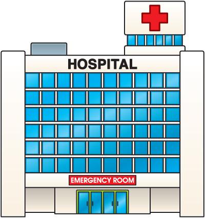 Free clipart hospitals.
