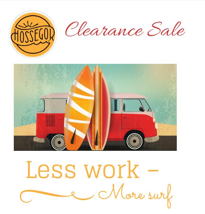 ACCOMODATION HOSSEGOR: CLEARENCE SALE.