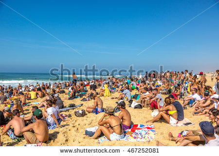 Hossegor Stock Photos, Royalty.