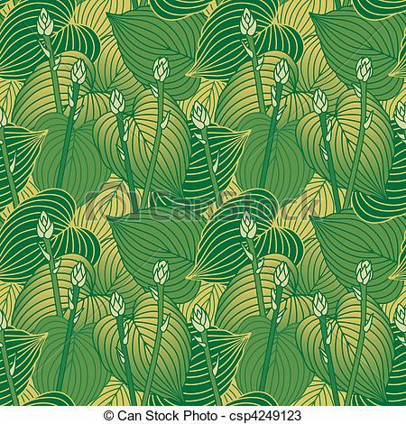 Hosta Vector Clipart EPS Images. 10 Hosta clip art vector.
