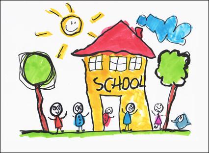 Primary School Clipart.