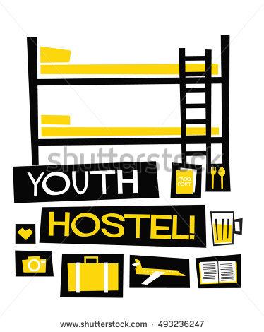 Youth Hostel Lizenzfreie Bilder und Vektorgrafiken kaufen.