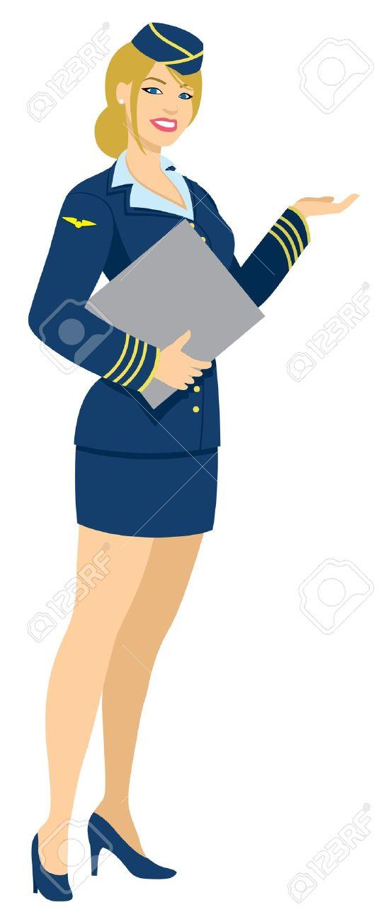 Restaurant hostess clipart.