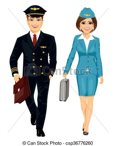 Flight hostess Vector Clip Art Illustrations. 415 Flight hostess.