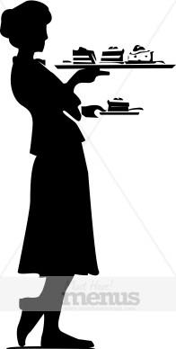 Hostess Clipart.