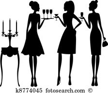 Hostess Clipart Royalty Free. 711 hostess clip art vector EPS.