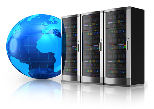 Web hosting clipart.