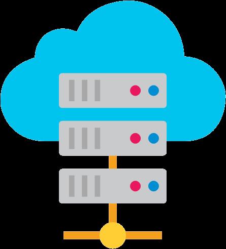 Cloud Server Clipart Clipart Transparent Background.