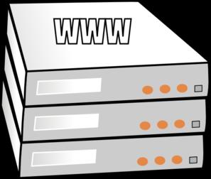 Managed Server Hosting Clip Art at Clker.com.