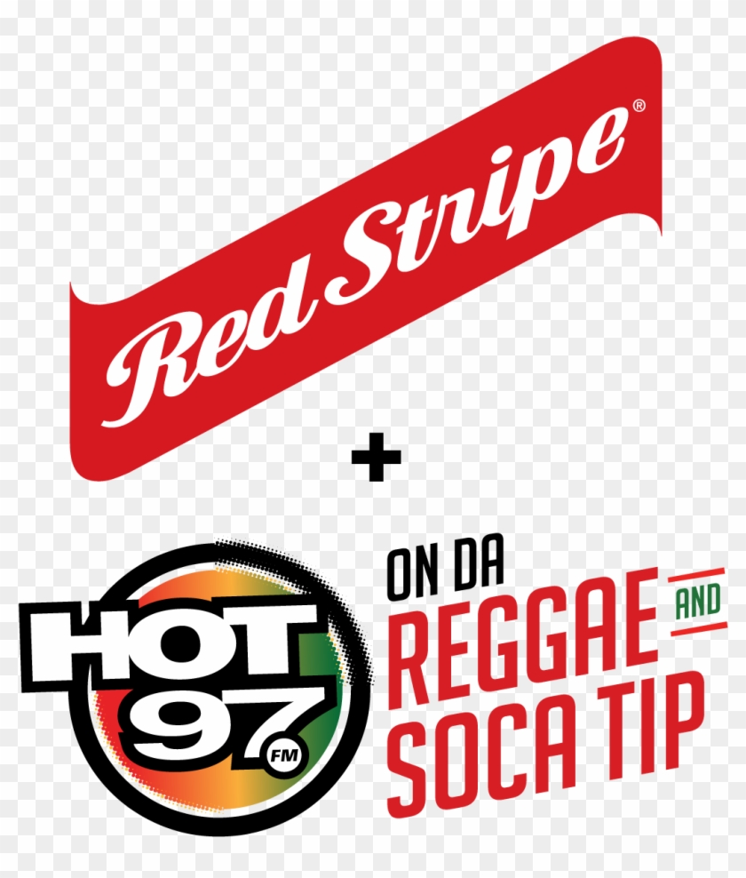 Red Stripe Hot 97 Logo.
