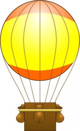 Hot Air Balloon Basket Clip Art Download.
