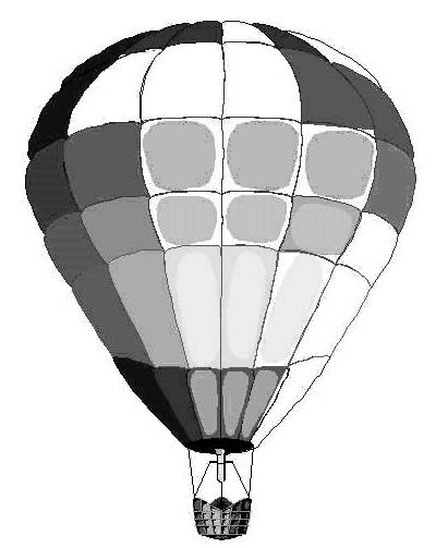 Hot Air Balloon Clipart.