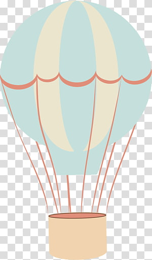 Hot Air Balloon transparent background PNG cliparts free.