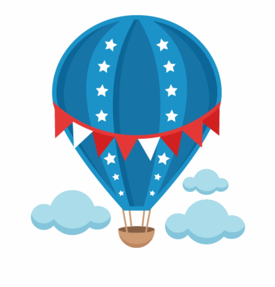 Hot Air Balloon Clip Art Free Patriotic Hot Air Balloon.