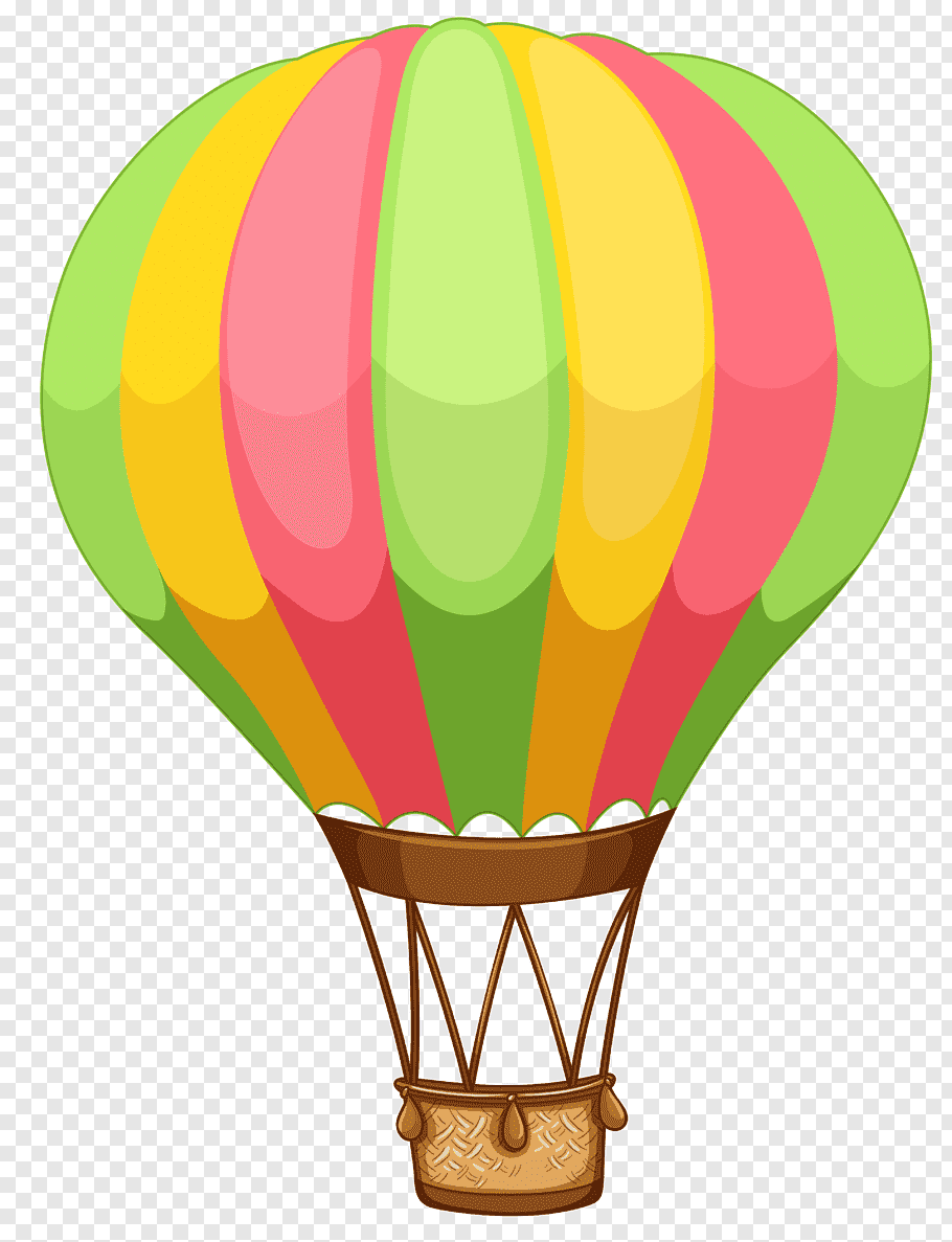 Multicolored hot air balloon, Hot air balloon, air balloon.