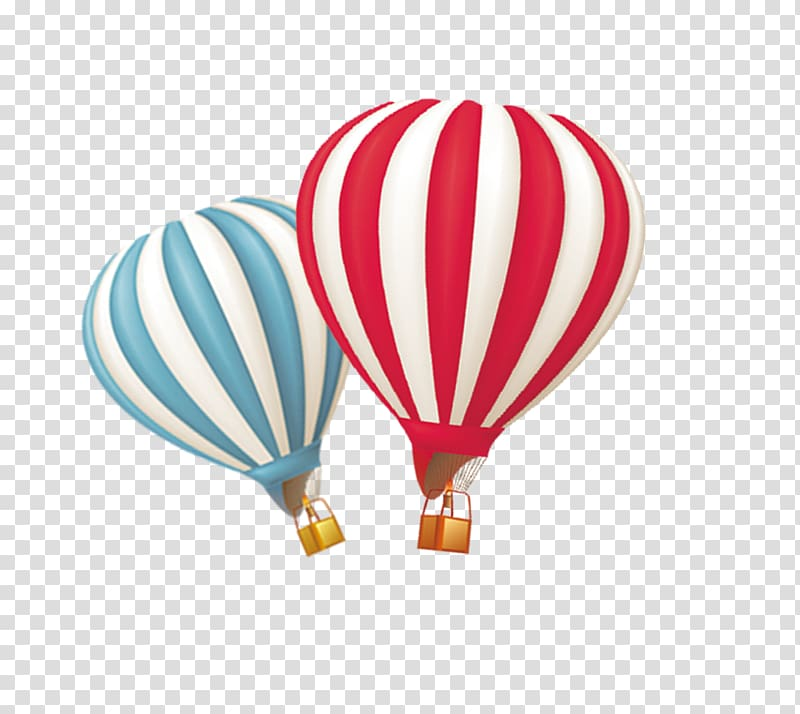 Hot air ballooning, Creative Hot Air Balloon transparent.